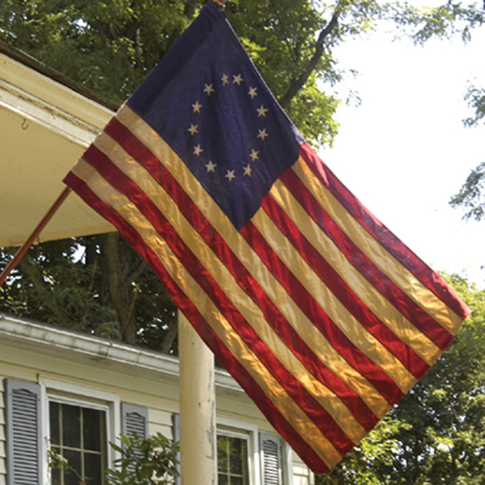 Tea Stained Betsy Ross Flag - Flags Unlimited