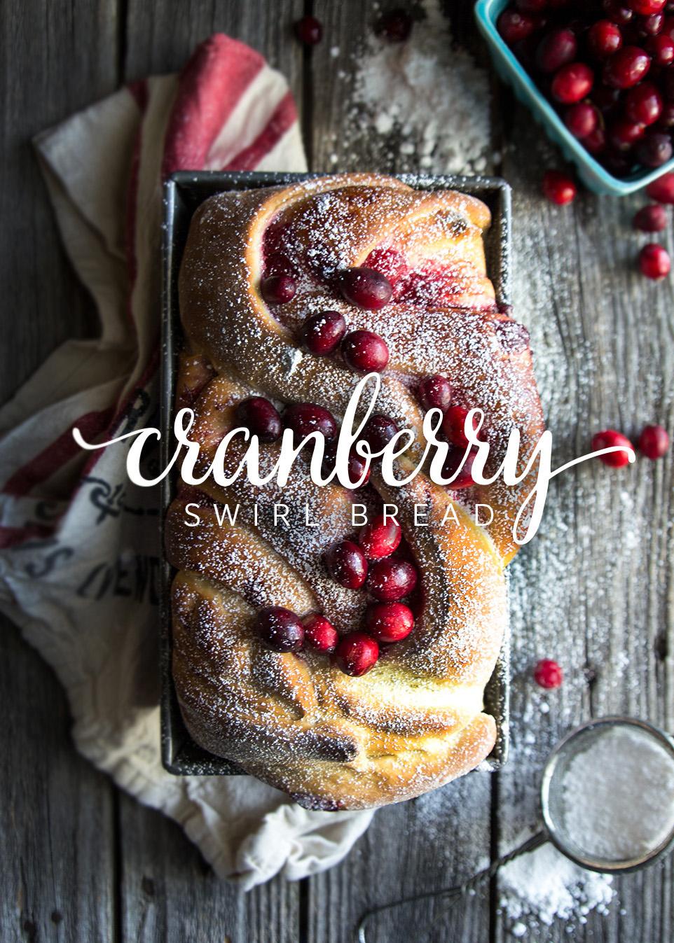 Cranberry Swirl Bread