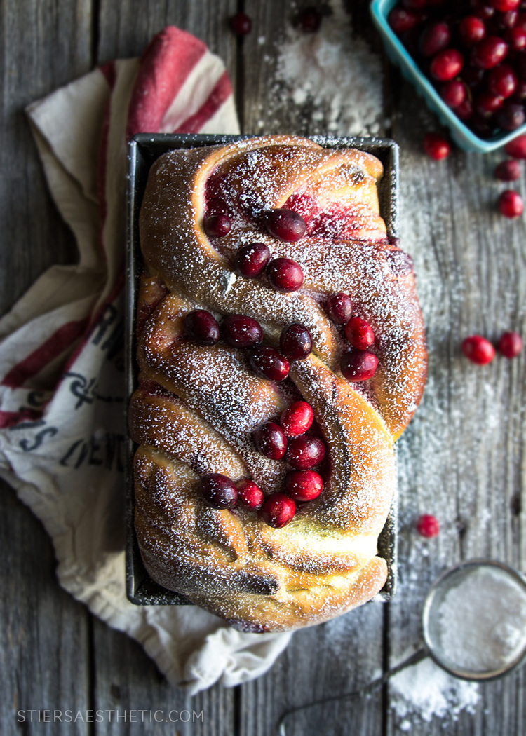 Cranberry Swirl Bread....a perfect breakfast recipe for Christmas from Stiers Aesthetic | Friday Christmas Favorites from www.andersonandgrant.com