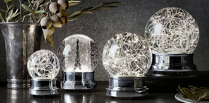 Starry Light Snowglobes