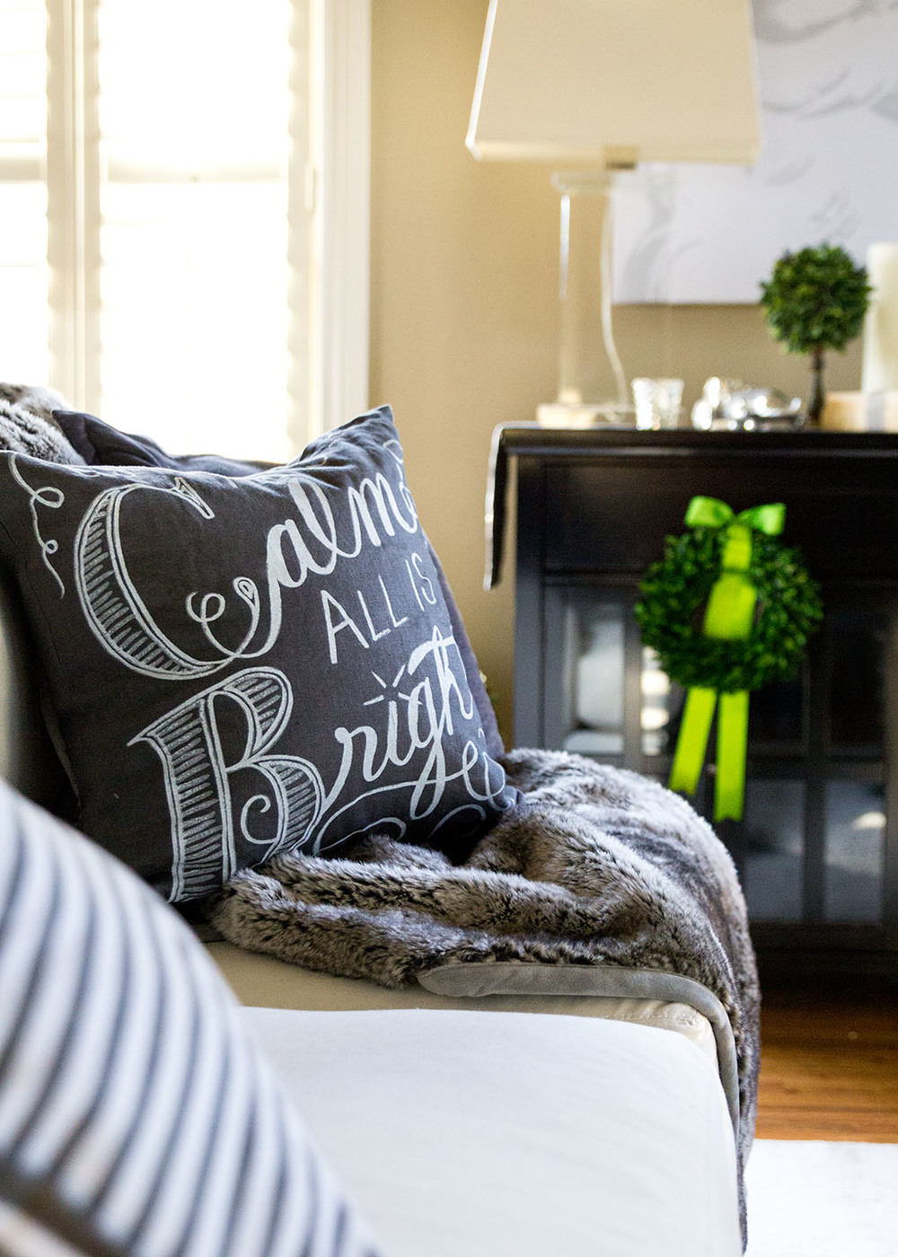 Calm & Bright Pillow - Pottery Barn