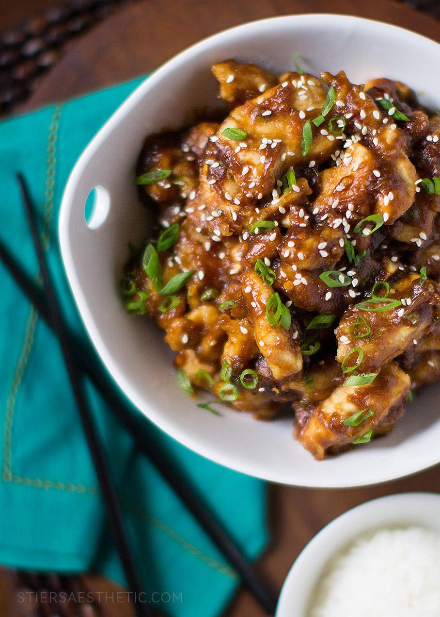 General Tso's Spicy Chicken