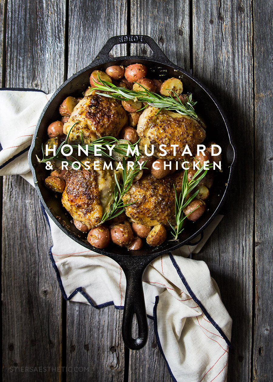 Honey Mustard & Rosemary Chicken