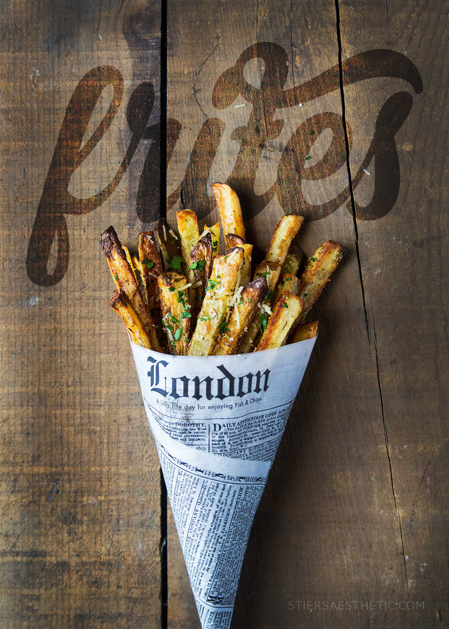 Oven Baked Frites
