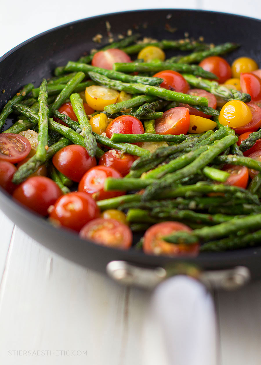 Tomatoes & Asparagus