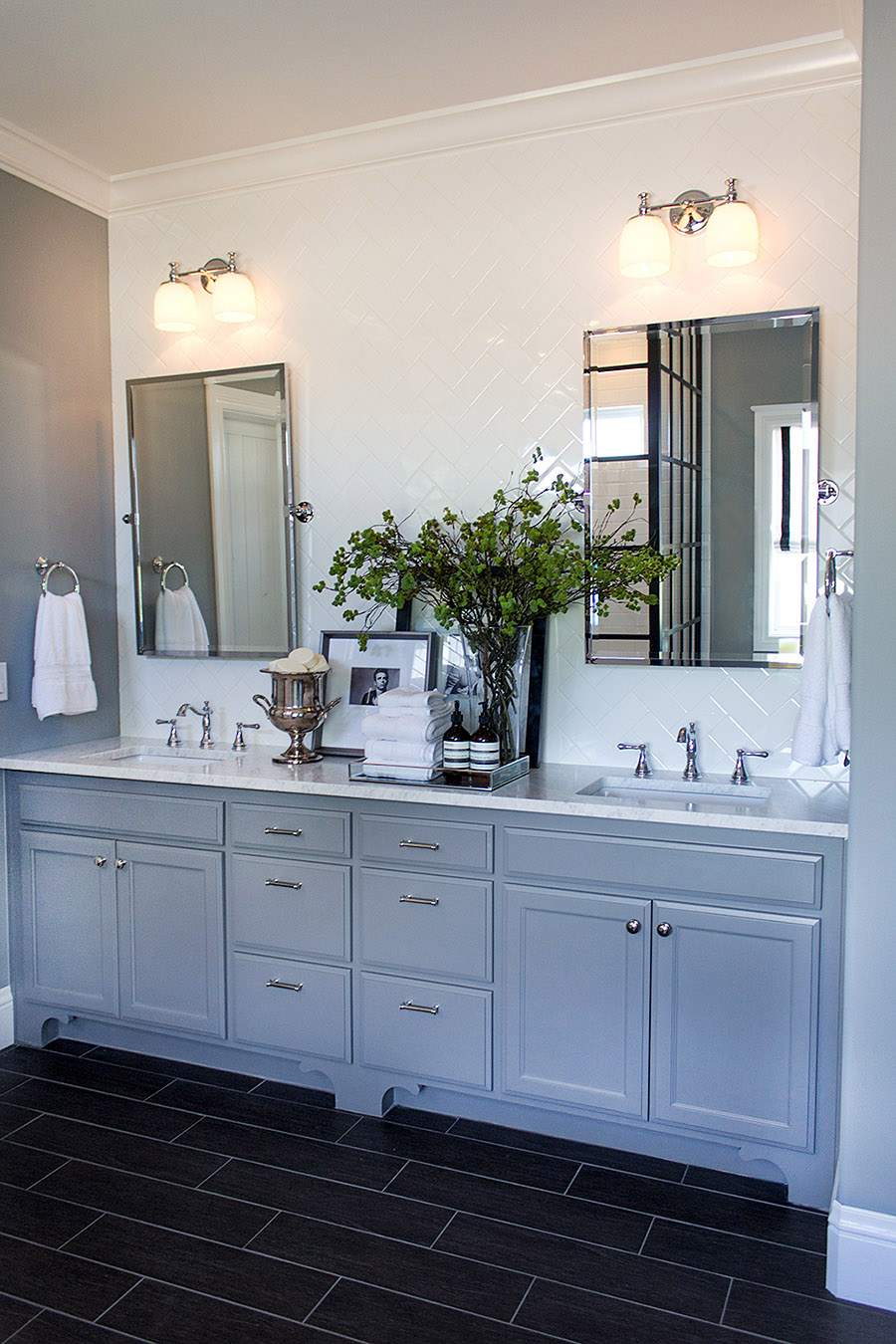 Master Bathroom Hollywood Makeover The Stiers Aesthetic