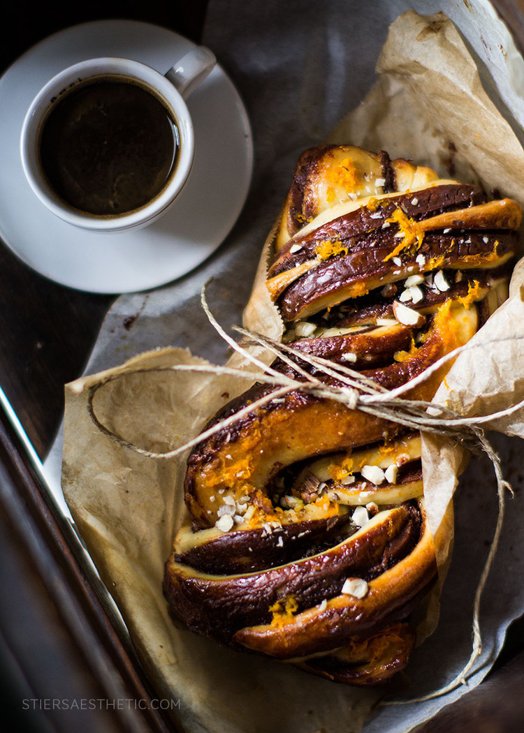 Nutella Orange Babka