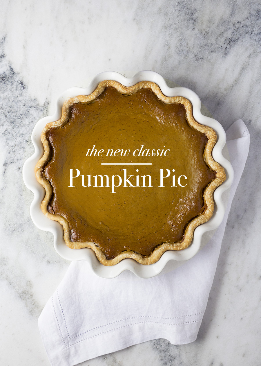 The New Classic Pumpkin Pie