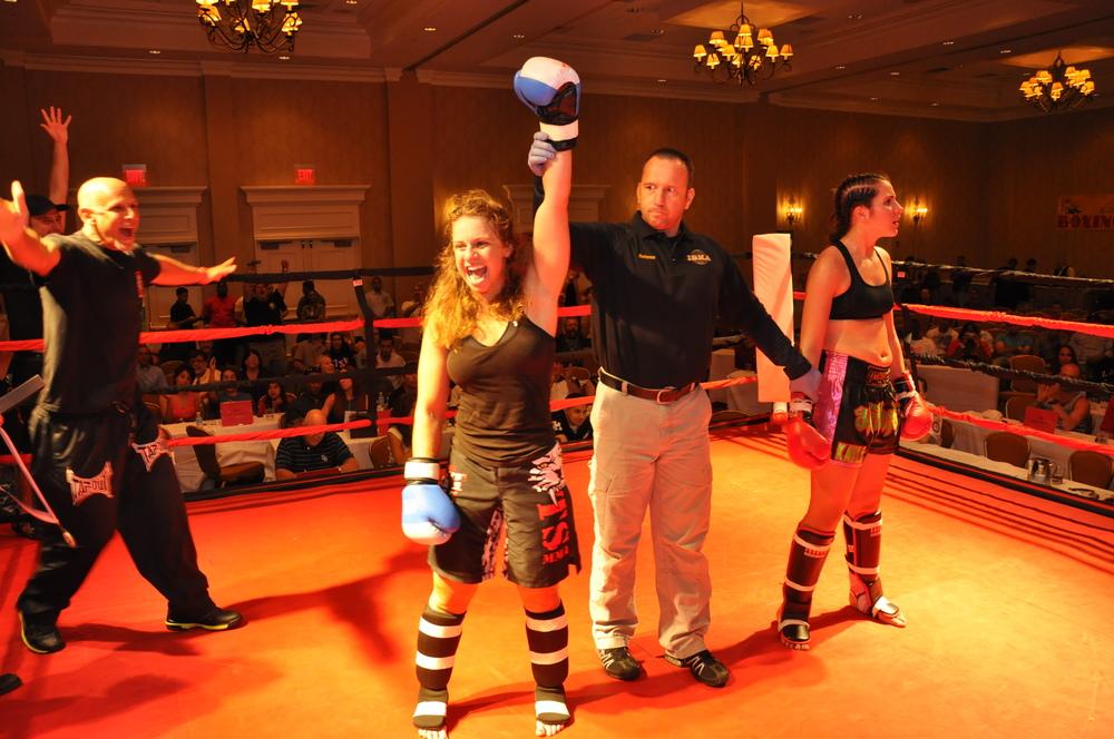 A female bout winner .JPG