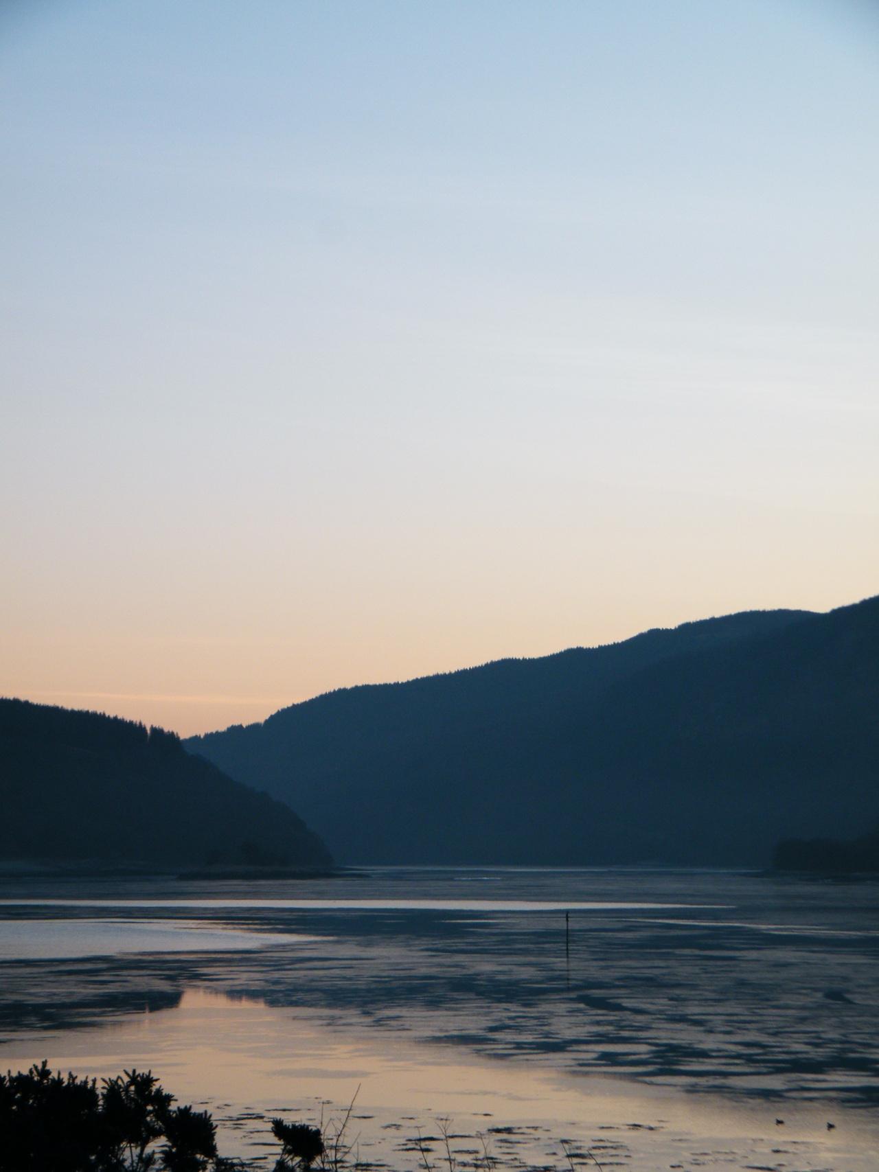 Ice on Loch Feochan 19/02/2013