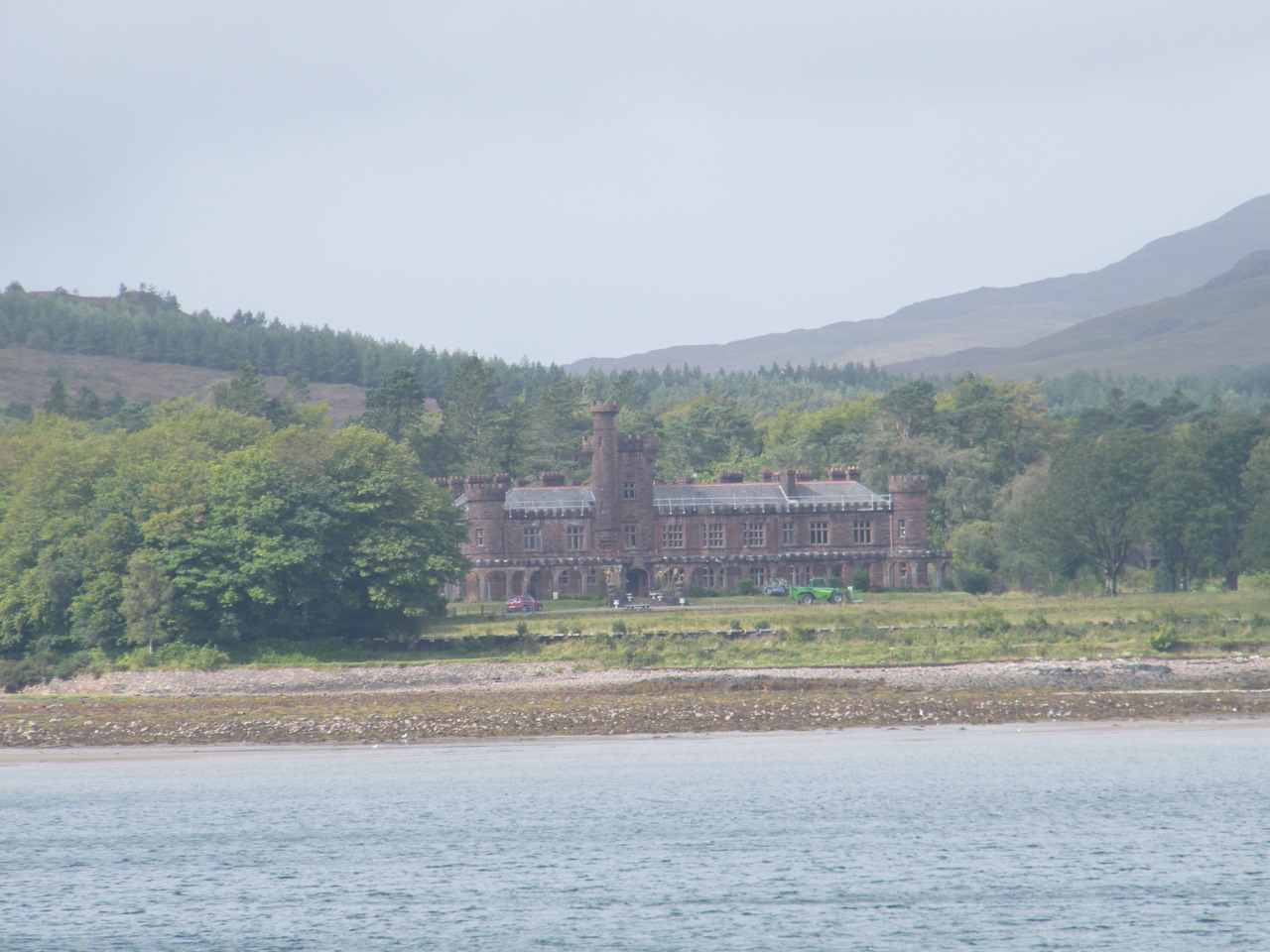 Kinloch Castle on Rum
