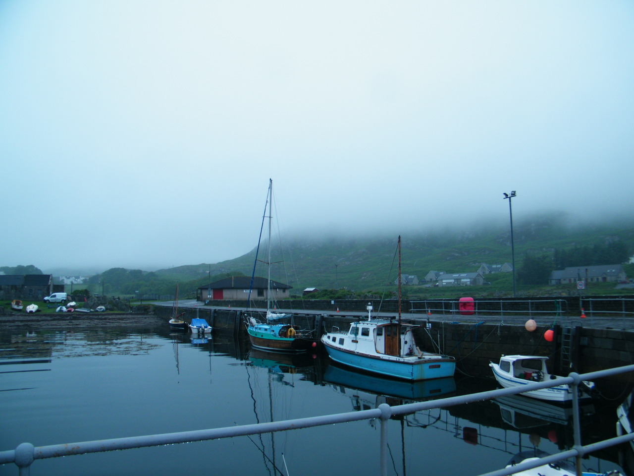 A misty Colonsay