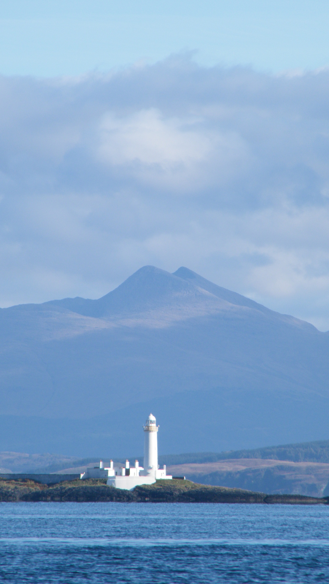 Lismore Lighthouse and Ben Cruachan