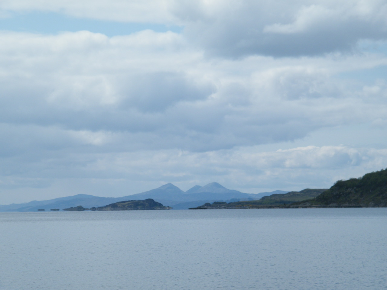 Loch Craignish looking towards the Paps of Jura