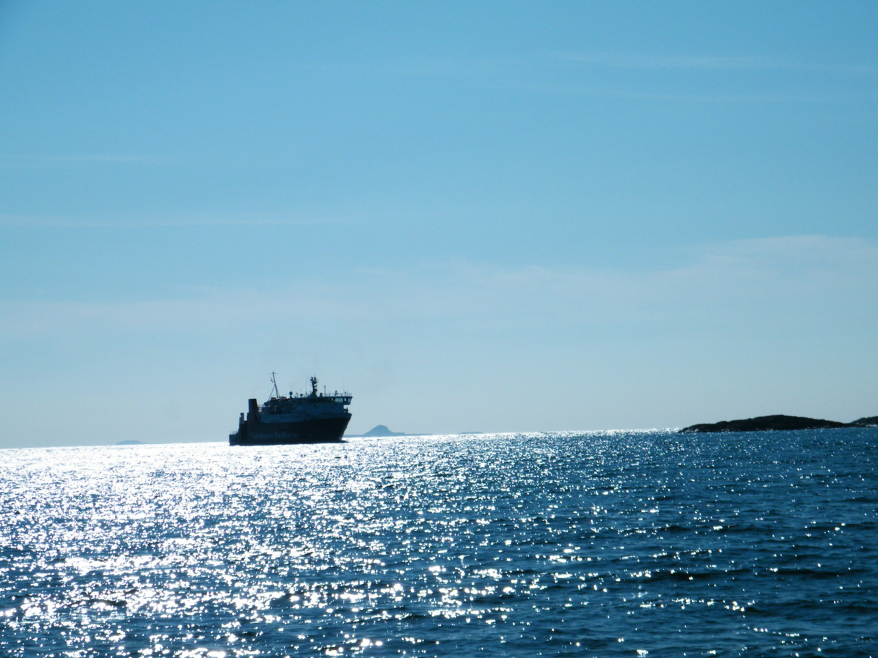 The Lord of the Isles arriving at Coll