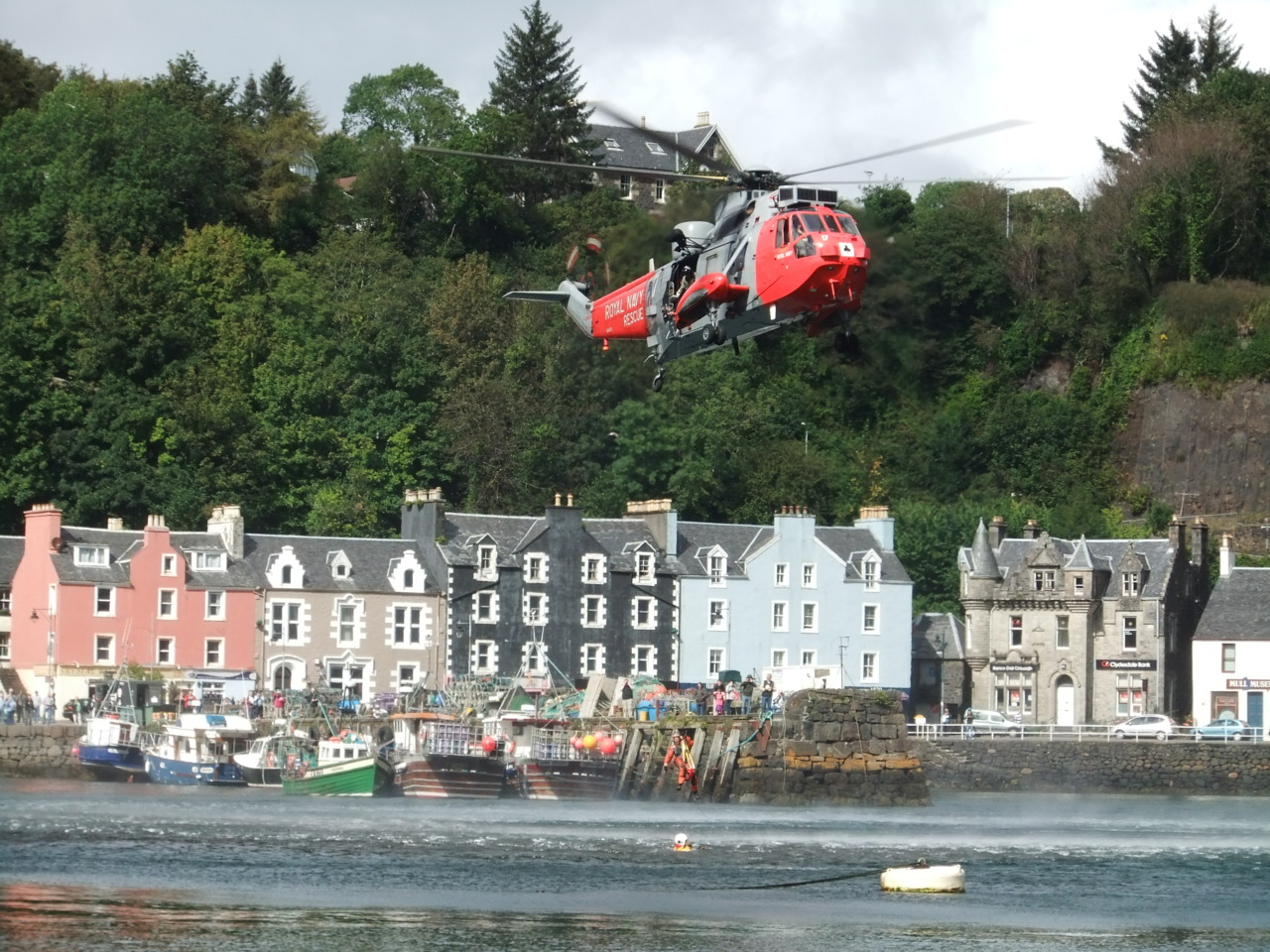 Taken by Liana Cripps Lifeboat day in Tobermory
