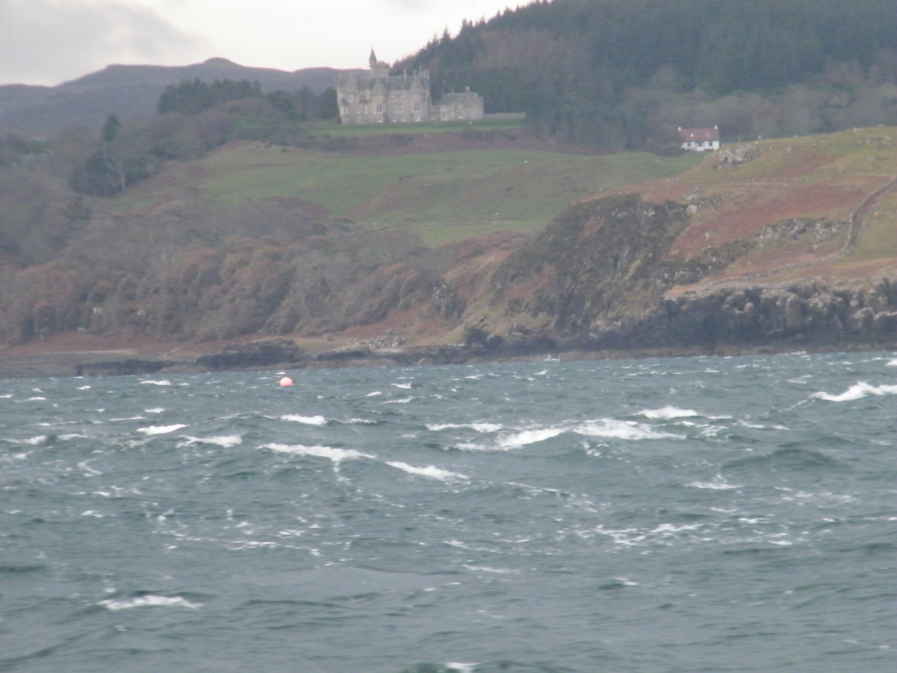 Glengorm Castle on the North end of Mull