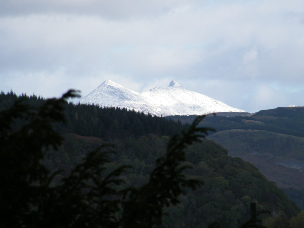 First Snow on Ben Cruachan
