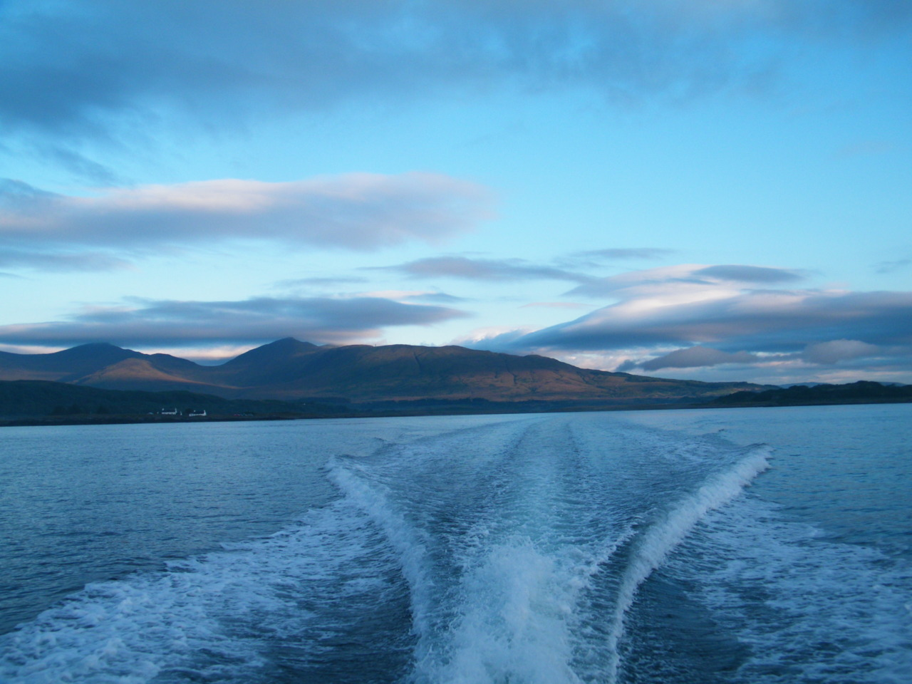 Heading back to Loch Feochan