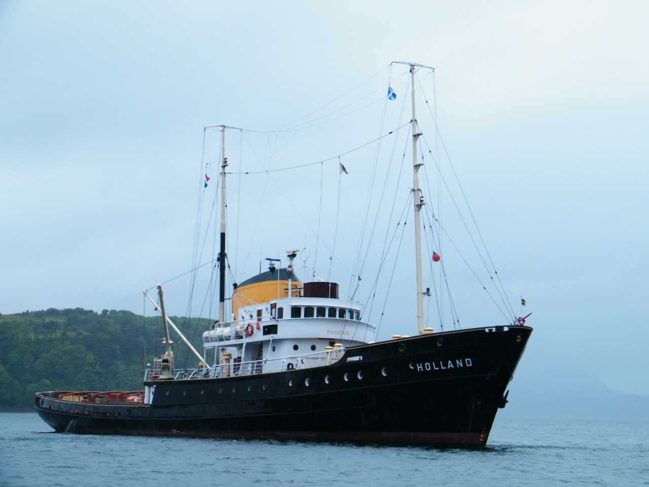 Ex Salvage Tug Holland
