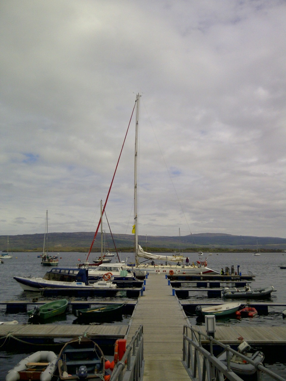 Rannochmor & Yacht Drum in Tobermory