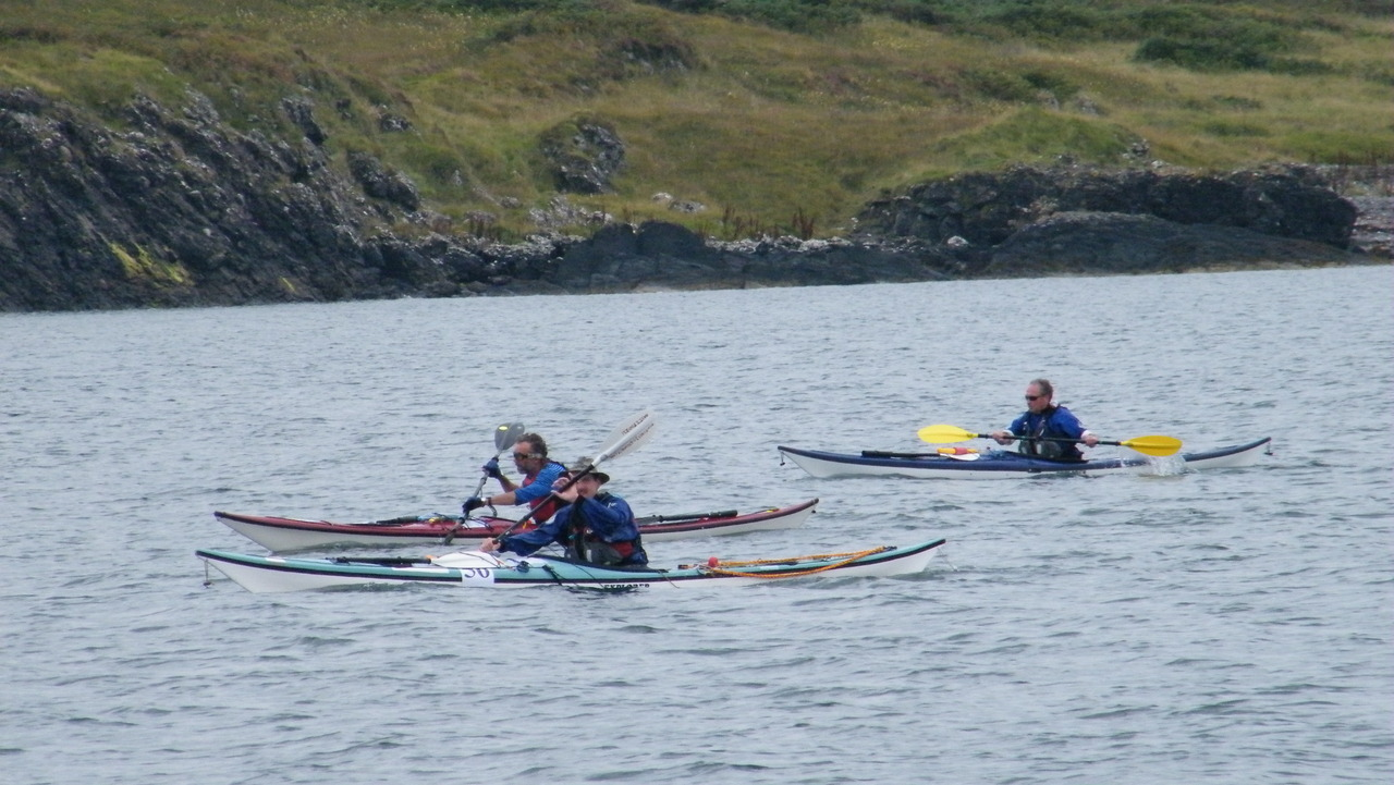 Oban Kayak Race 2010