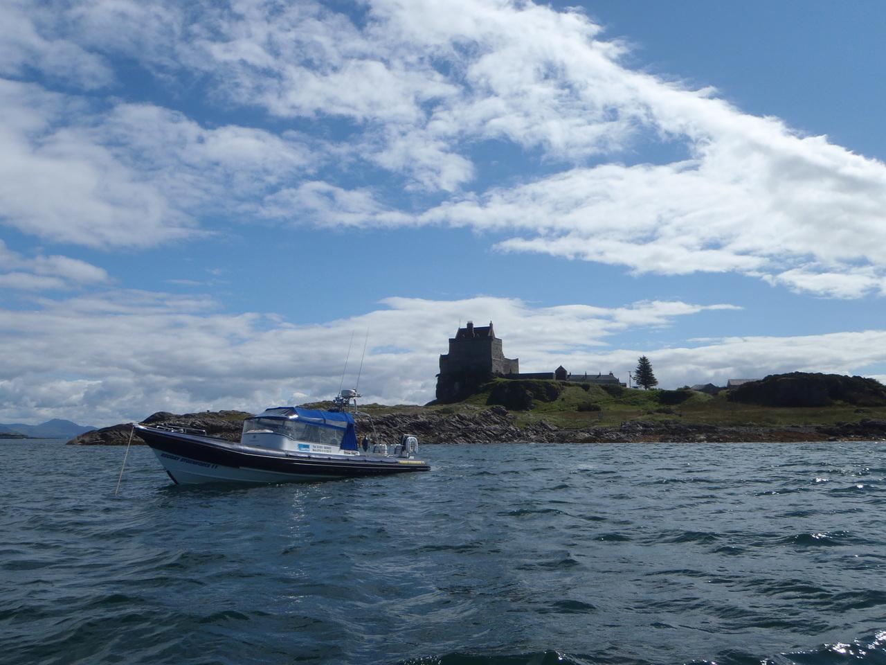 Power of Scotland in Duart Castle Bay