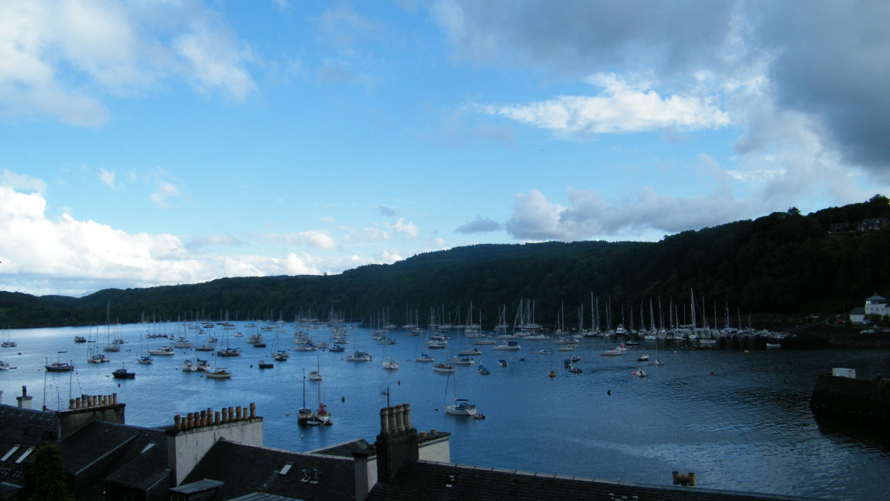 A Busy Tobermory Harbour