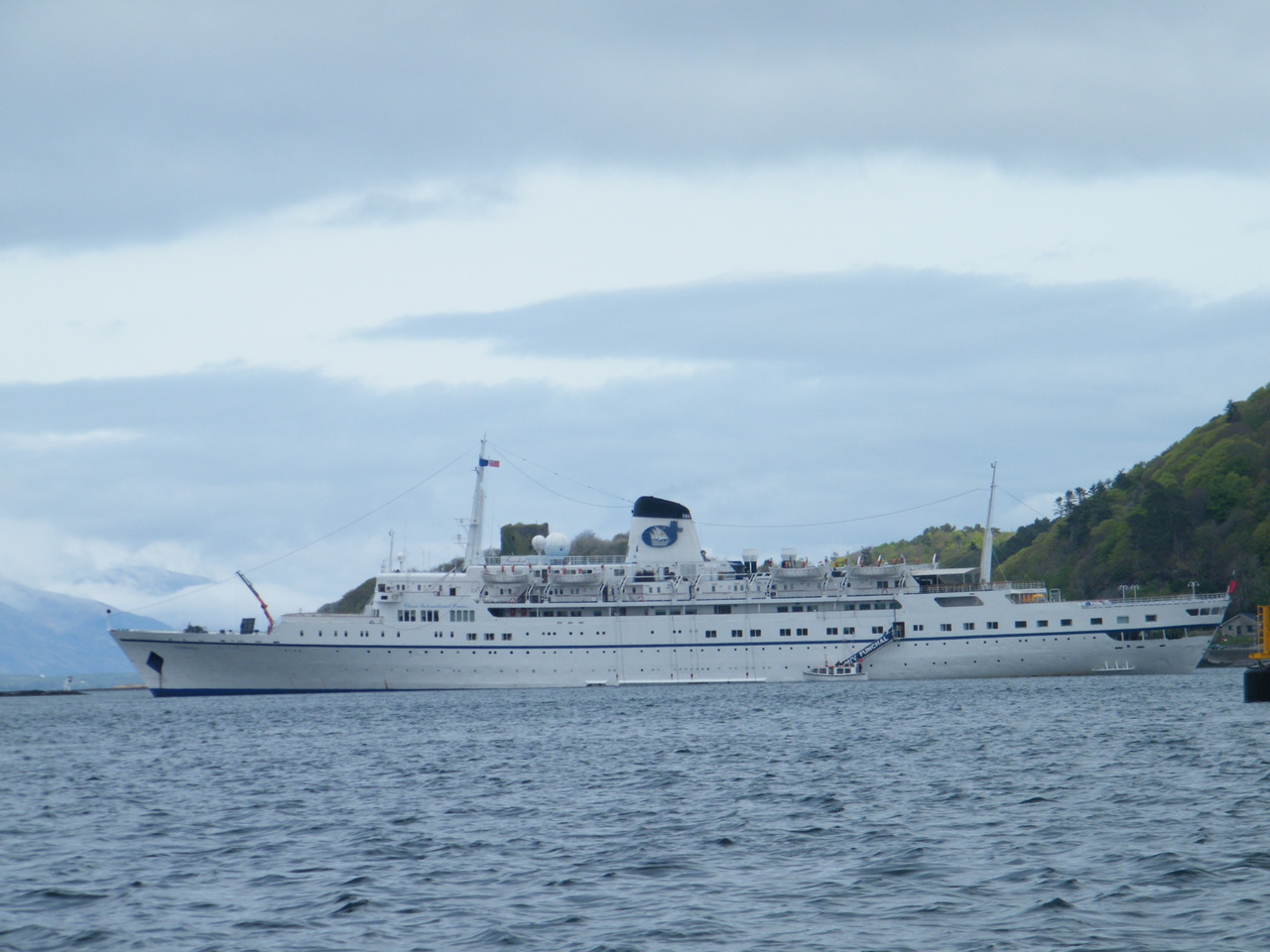 Cruise Ship Funchal in Oban Bay