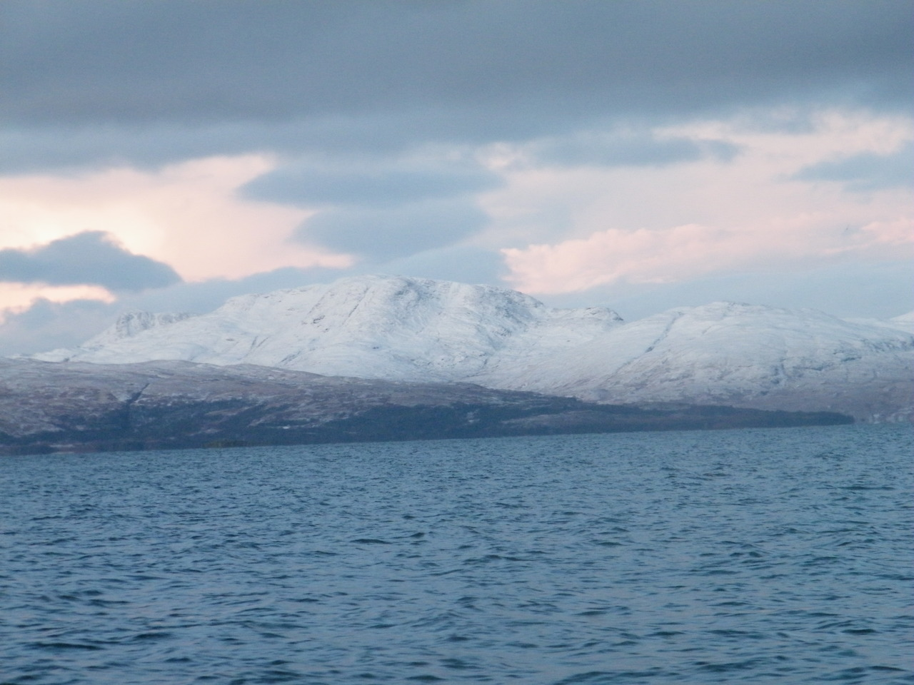 Mull covered in snow