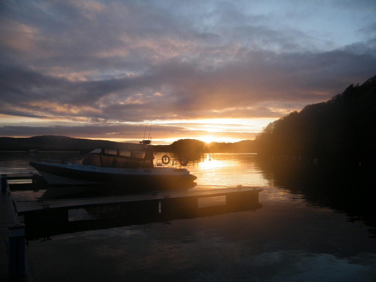 Sunrise over Tobermory