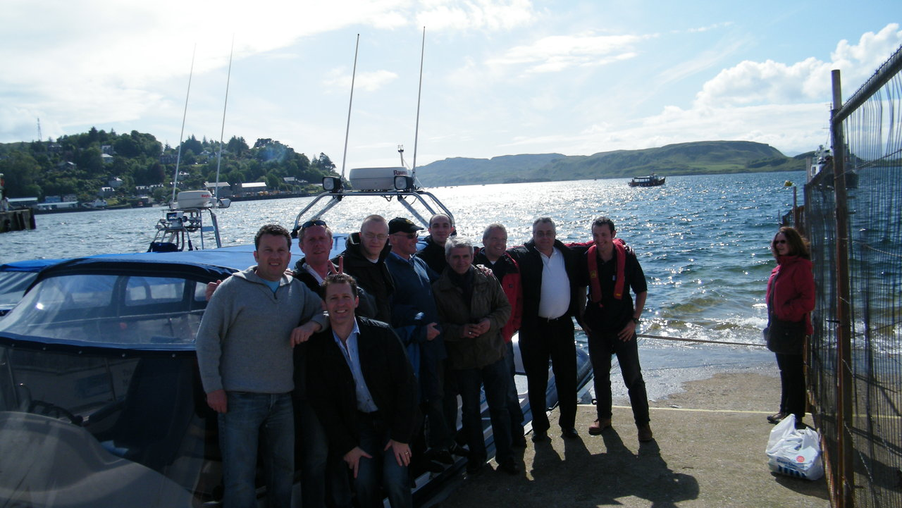 Oban Business outing