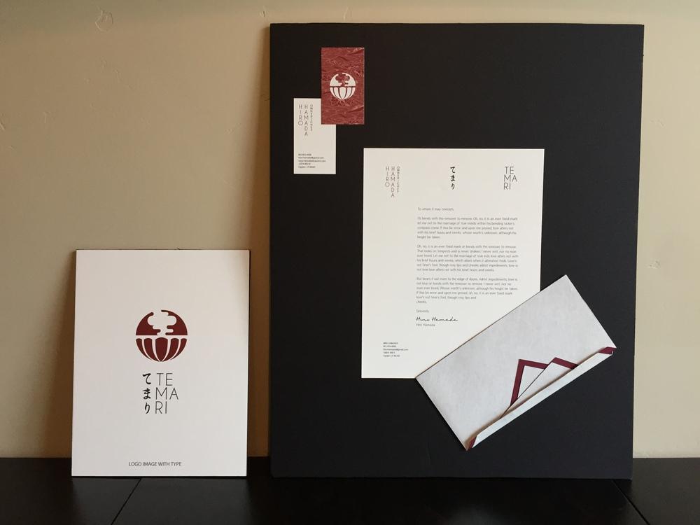 Temari: A Japanese Restaurant Designed by a Graphic Design major