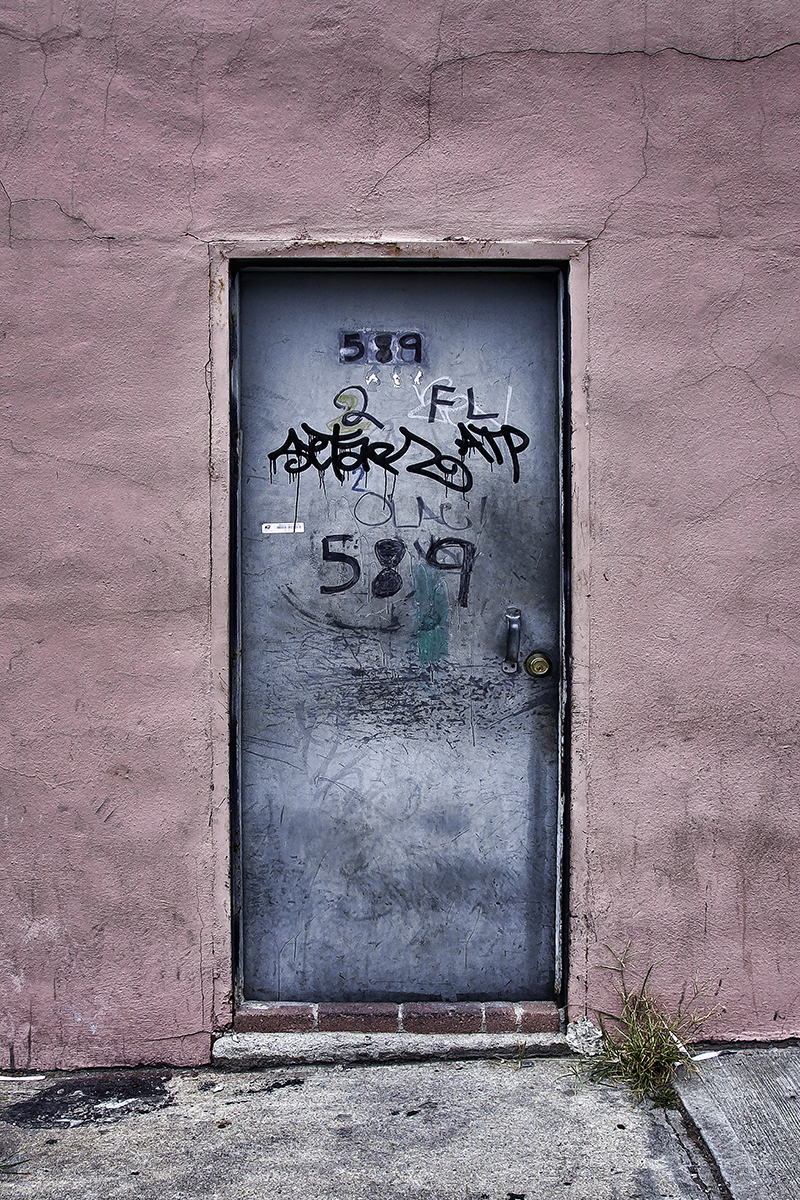Doorway, Gowanus  , 2010; Archival pigment print; 17 x 11 inches