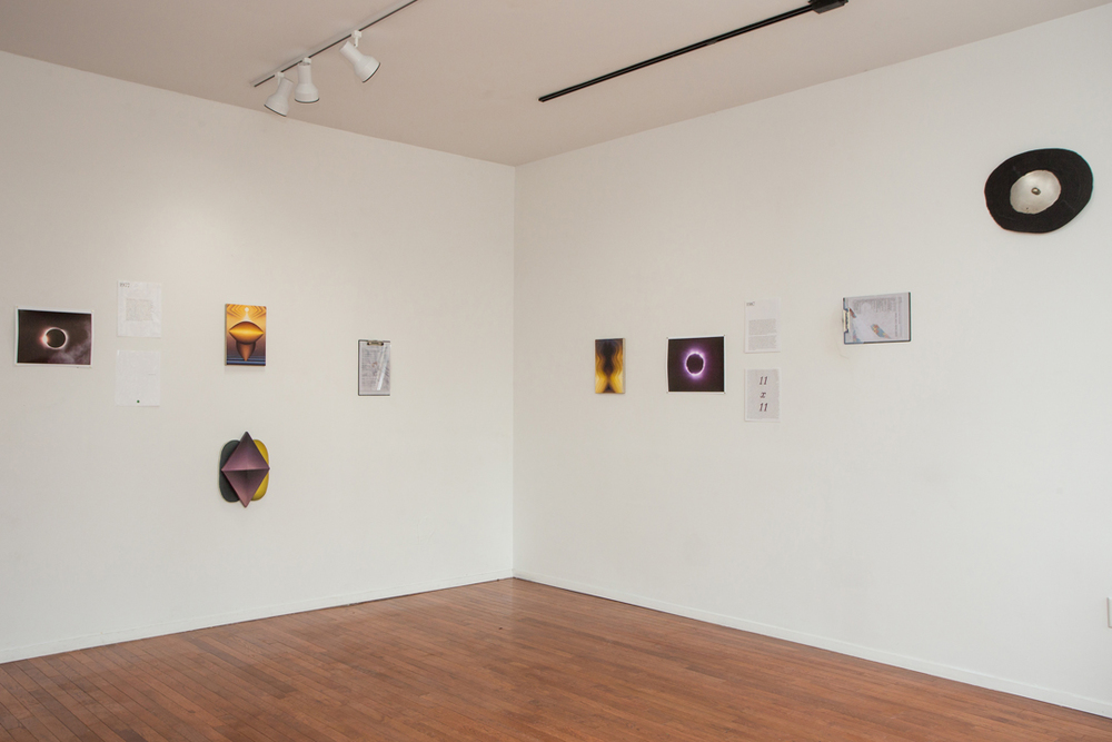 Installation view,  I    Swallowed a Moon Made of Iron; for, i promise to burn brightly ,   curated by Alan Longino, 2015