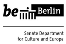 This project is co-funded by the Berlin Senate Department for Culture and Europe