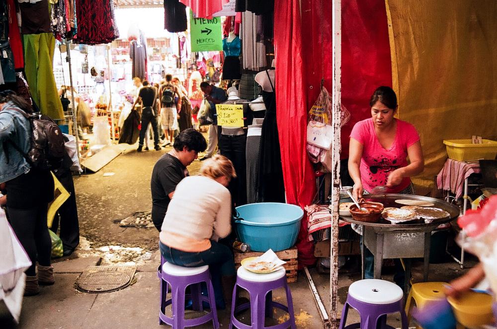 La Merced food stall