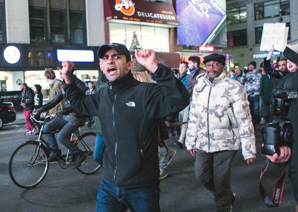 Eric Garner protests, NYC (Photo: Connie Tsang)