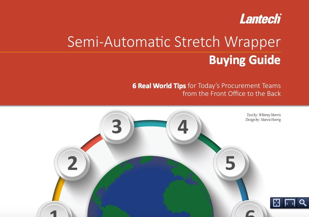 Semi-automatic stretch wrapper buying guide -