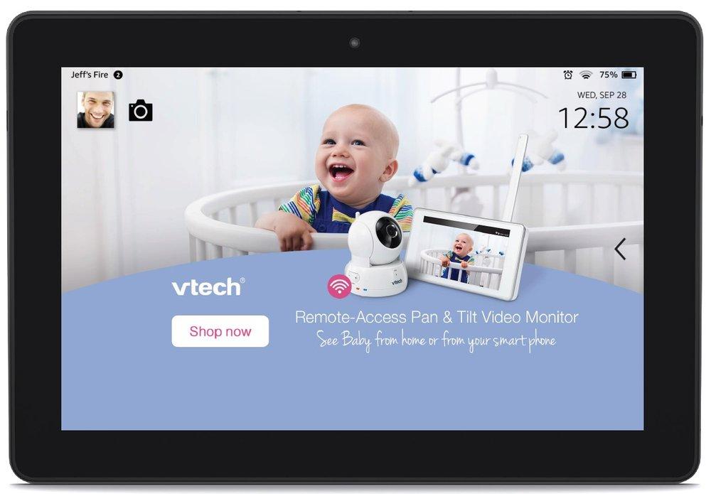 Amazon Kindle digital ad -
