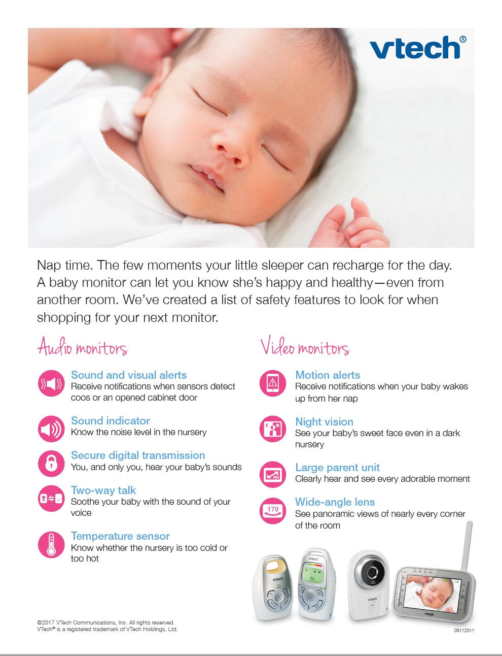 "Babies ""R"" Us Safety Month advertorial flyer -"