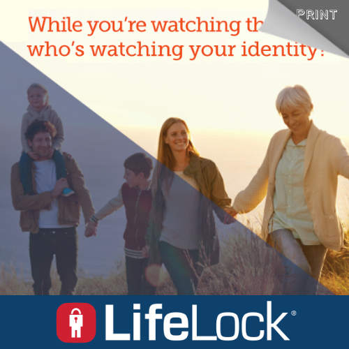 LifeLock - AAA Magazine Ad