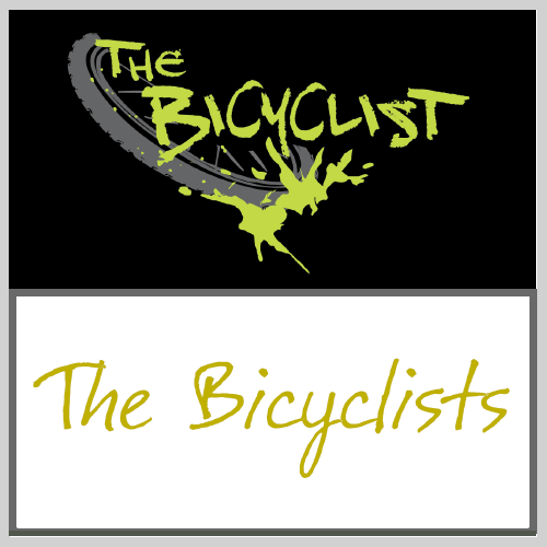 The Bicyclist  web series logo. Young, edgy, fun and even a little dangerous. The logo is a manifestation of what it felt like to be part of the alternative bike culture in Portland during the first decade of the 21st century.   The Bicyclists  movie logo. The film, created after the web series, took a turn toward the dramatic. The new logo reflects that change in direction by balancing gentle beauty and reflection, while still moving forward.