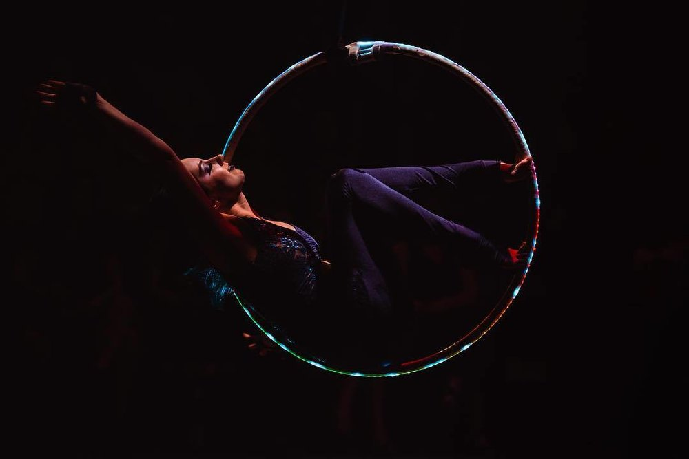 Aerial Hoop Performance