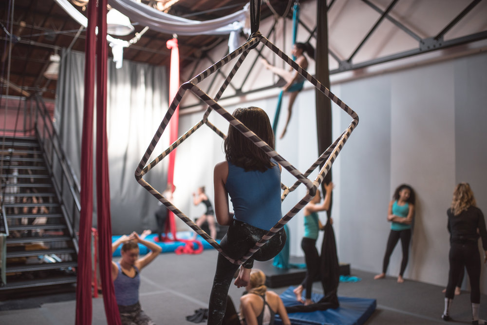 Aerial Cube Youth Program