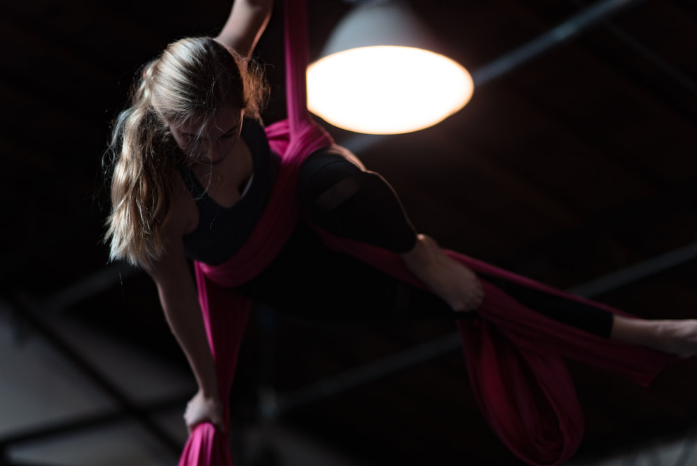 Aerial Acrobatics Youth Classes