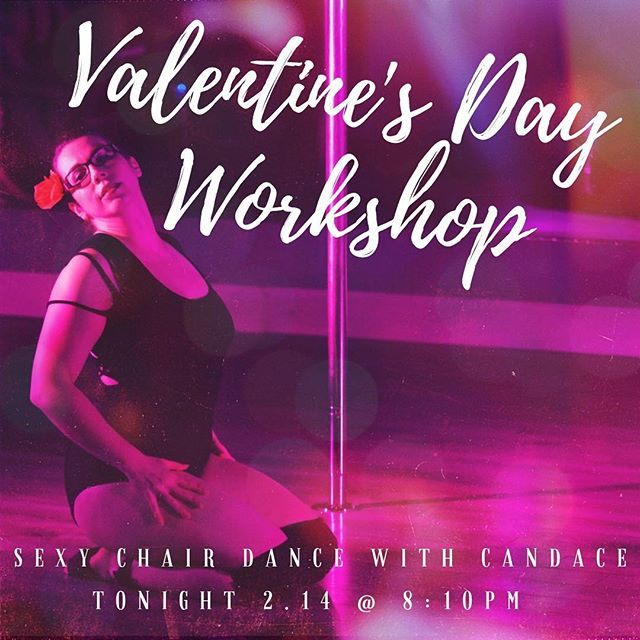 Happy Valentine's Day!! Come spice it up by joining us tonight with our Valentine's Day Sexy Chair Class! It will be 8:10pm with the instructor Candace!! If you want to feel vigorously confident this Valentine's Day, go sign up for this workshop on MindBody Online now before the spots are all gone! 🥀  #aerialyoga #yoga #aerialarts #lexington #sharethelex #kentucky #fitness #circus #weightloss #balance #flexibility #training #bodypositivity #gethealthy #fitspo #strengthtraining #workout #health #HIIT #tabata #fitnessmotivation #polefitness #trapeze #lyra #aerialsilks #selfcare #workshop #wellness