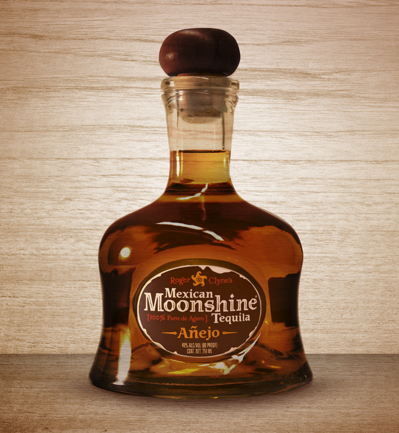 Mexican Moonshine Tequila Packaging Art Direction: Katie Blaker Creative Direction: Jason Smith