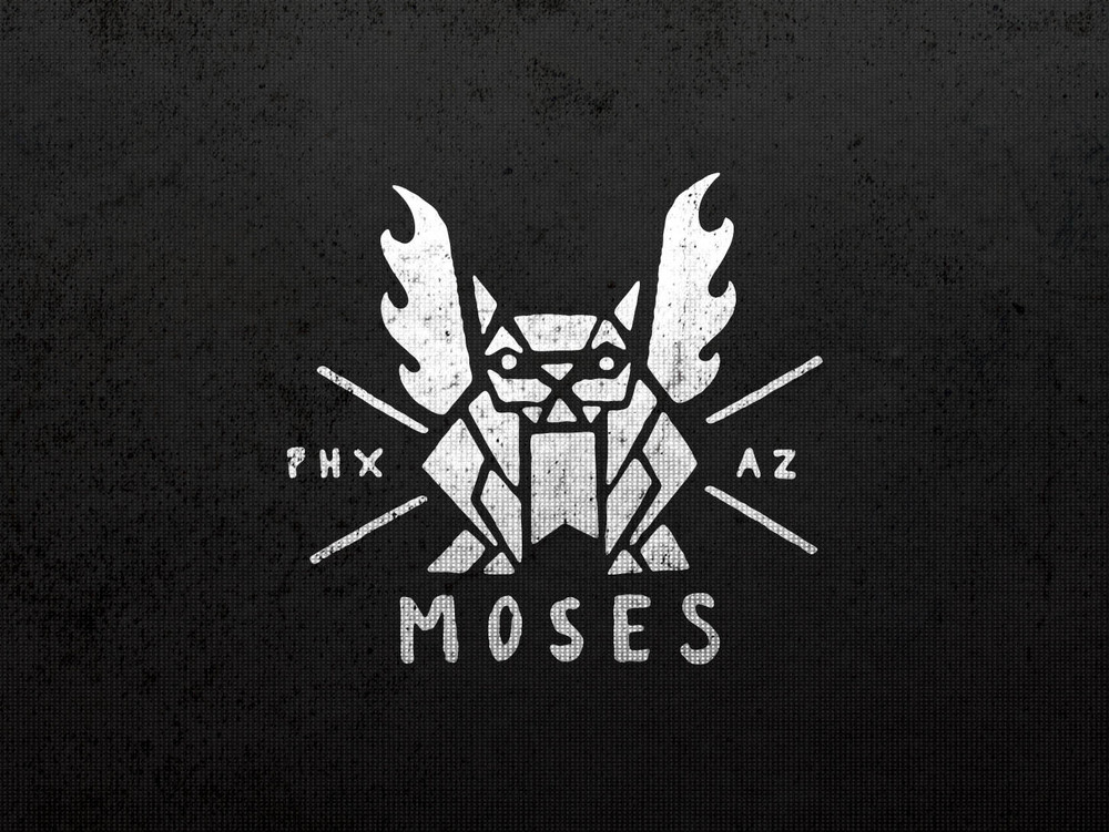 Moses Inc. Alternate Logo Art Direction/Illustration/Design: Katie Blaker Creative Direction: Louie Moses, Jason Smith