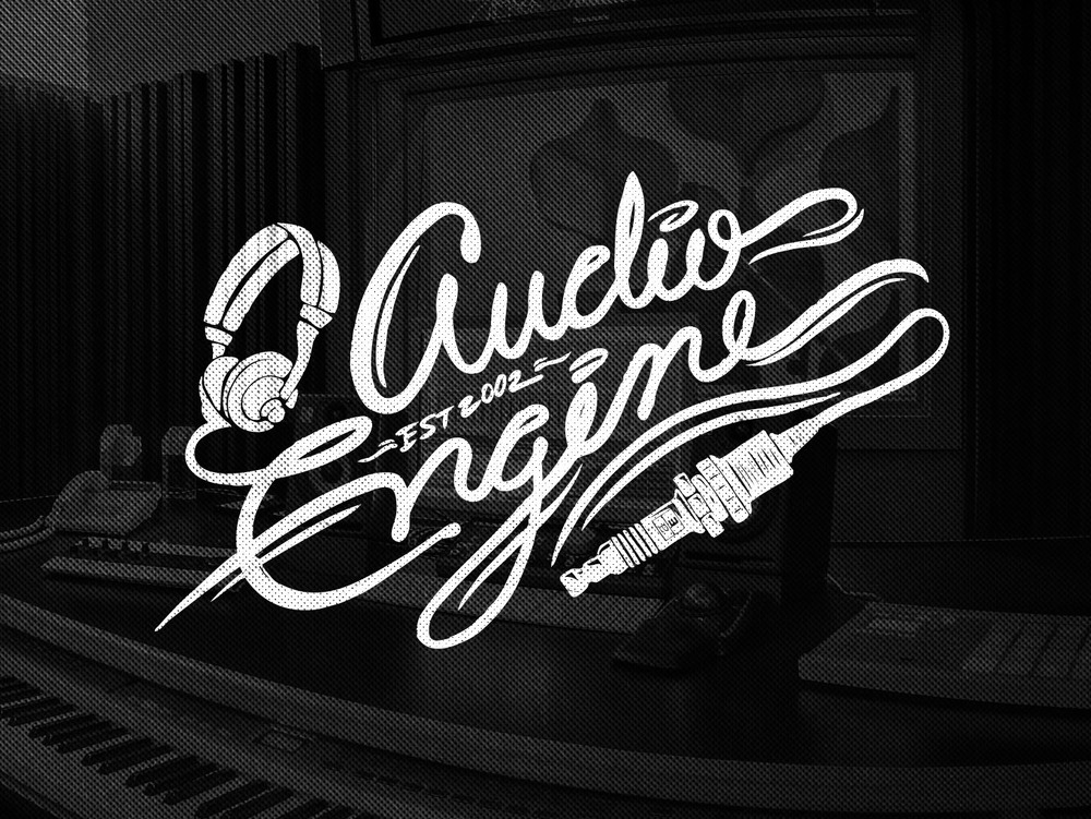 Audio Engine Alternate Logo Art Direction/Illustration: Katie Blaker Creative Direction: Jason Smith